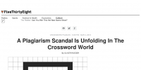 Crossword Plagiarism